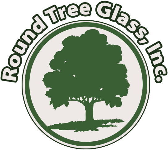 Willits Round Tree Glass Retina Logo